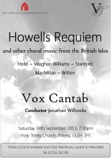 September 2013 | Howells' Requiem