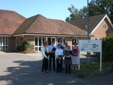 The Rowans Hospice, Waterlooville, Hampshire, August 2014