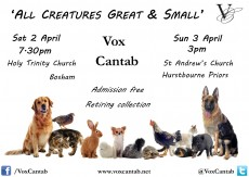 April 2016 Easter Tour | All Creatures Great & Small